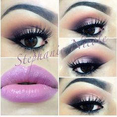 Amazing MUA gorgeous look for brown eyes