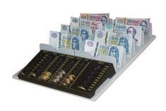 Fióktálca érmetálcával (FET-1) - Strauss Metal Aprópénz és bankjegyek kezelésére alkalmas. A gyorsabb kiszolgálást elősegíti, így elégedettebbek lesznek a vásárlók. Ha nagyobb a pénzforgalom és több bankjegyet kell átláthatóan elrendezni akkor ezt a terméket ajánljuk.