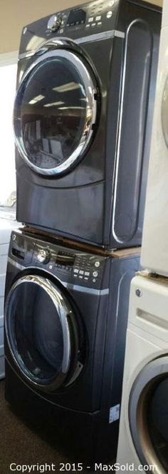 MaxSold - Auction: Peterborough Online New Inventory and Gift Certificate March Auction -  ITEM: Bert's Appliances LG Washer & Dryer