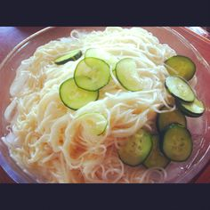 This is Hiyasomen which is cold noodles we usually eat summer time.