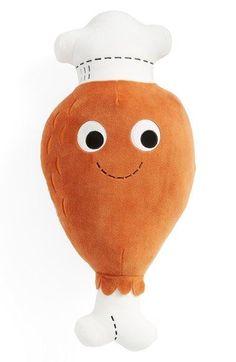 Kidrobot 'Yummy World – Drumstick Dan' Plush Toy available at Kidrobot 'Yummy World – Drumstick Dan' Plüschtier abrufbar unter Food Pillows, Cute Pillows, Kawaii Plush, Cute Plush, Squishies, Food Plushies, Yummy World, Cute Furniture, Cute Stationary