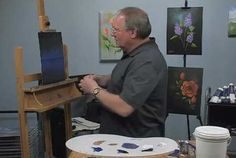 Paint-Along - How to Paint a Night Scene in Oils - Part 1 - Video Lessons of Drawing & Painting
