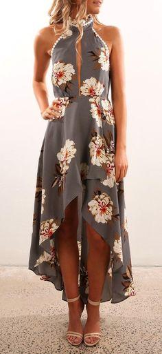 summer outfits Quantom Dress Grey