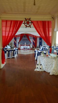 Marlen's decoraciones 's Birthday / Nautica - Photo Gallery at Catch My Party Nautical Baby Shower Decorations, Nautical Party, Baby Shower Themes, Baby Boy Shower, Shower Ideas, Sailor Birthday, Baby Boy 1st Birthday, Mickey Mouse Marinero, Cruise Theme Parties