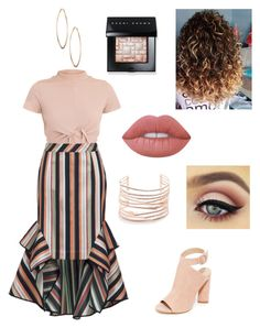 """Untitled #19"" by cris-bia on Polyvore featuring Kendall + Kylie, Alexis Bittar, Lydell NYC, Lime Crime, Bobbi Brown Cosmetics and Theo"
