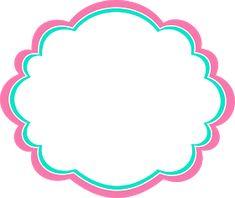 Printable Frames, Printable Designs, Cupcake Logo, Boarders And Frames, Disney Cars Party, Poster Background Design, Instagram Frame, Shimmer N Shine, Badge Design