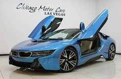 2015 BMW I8 Coupe MSRP $139k+ Giga World Beautiful Color Combo 11k Miles