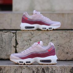 cheap for discount 4fba1 4dfe6 ... low price nike wmns air max 95 barely rose hot punch 307960 603 size  72fce bb82b