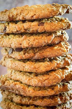 fourless oatmeal cookies
