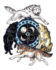 Wolf Spirit Shield