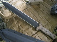 Miller Bros. Blades (MBB) M-14 Gladius style single handed  double edged tactical Short Sword