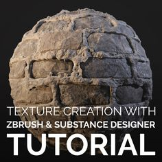 Tutorial - Texture Creation with Zbrush & Substance Designer, Enrico Tammekänd on ArtStation at https://www.artstation.com/artwork/nqenK