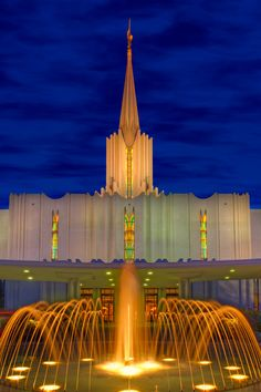 Wonderful photographs and art made of LDS Temples