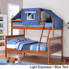 Donco Kids Mission Tent Kit Bunk Bed - Overstock™ Shopping - Great Deals on Donco Kids Kids' Beds