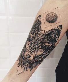 #Tattoo by @zheremo #⃣#Equilattera #tattoos #tat #tatuaje #tattooed #tattooartist #tattooart #tattoolife #tattooflash #tattoodesign #tattooist #bestoftheday #original #miami #mia #creative #florida #awesome #love #ink #art #design #artist #illustration #dotwork # #moon #wolf