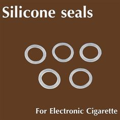 Silicone replacement seals for the entire e-cig atomizer to prevent Juice spills and air leakage.