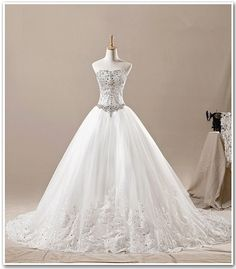 2013 New Design Customade Bridal Wedding Dress Princess by OLACE, $389.00