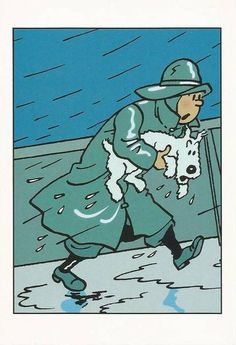 Sale temps… Hergé