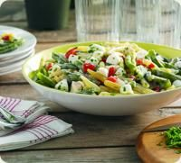 Green Bean Salad with Garlicky-Yogurt Dressing - might be good with some pasta added too?