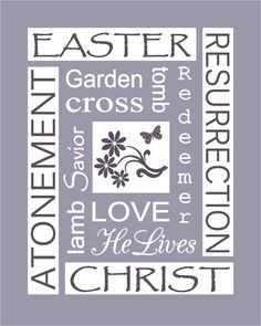 Easter Subway Art Prints
