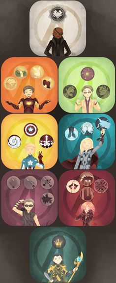 Avengers in a box by ~GraphiteDoll on deviantART<< I don't even understand this, but I find it amazing.