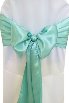 Wholesale tiffany blue fabric from Cheap tiffany blue fabric Lots, Buy from Reliable tiffany blue fabric Wholesalers. Wedding Chair Sashes, Bow Tie Wedding, Wedding Chairs, Satin Sash, Blue Satin, Chair Cover Rentals, Chair Bows, Table Overlays, Blue Christmas