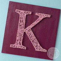 Have fun and get creative making your own DIY String Art