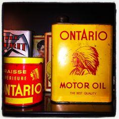 Ontario bidon d'huile