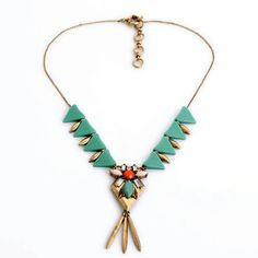 Simple Resin Triangle Antique Gold Pendants Fashion Thin Chain Elegant Necklace for Women Leather Necklace, Stone Necklace, Crystal Necklace, Arrow Necklace, Pendant Necklace, Choker Necklaces, Gold Necklace, Earrings, Cheap Necklaces