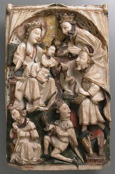 Adoration of the Magi, second half 15th century. British. The Metropolitan Museum of Art, New York. The Cloisters Collection, 1925. (25.120.485) #Cloisters