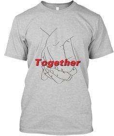 Together Light Steel T-Shirt Front