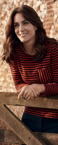 30 Apr 2016 - Duchess of Cambridge poses for Vogue centenary issue feature
