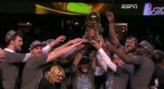 Iggy and the Warriors Beat the Cavs in 6, Win the NBA Finals