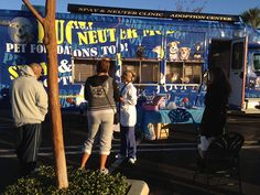 The Lucy Pet Foundation is a wonderful organization providing mobile spay and neuter surgeries at no cost to people in need. Their surgery van is nicer and cleaner than many vet clinics I've worked in! Find out more at lucypetfoundation.org