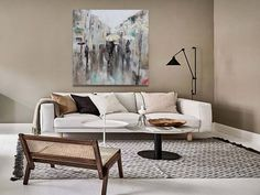 Ir a producto Couch, Living Room, The Originals, Outlet, Furniture, Home Decor, Canvases, Gray Armchair, Grey And Beige
