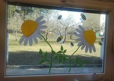 Pool Decorations, Spring Crafts, Montessori, Preschool, Frame, Home Decor, Spring, Art Education Resources, Bees