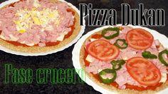 pizza dukan mejorada Diet Pizza, Zucchini Pasta, Dukan Diet, Fast Weight Loss, Pizza Recipes, I Foods, Tofu, Good Food, Healthy Eating