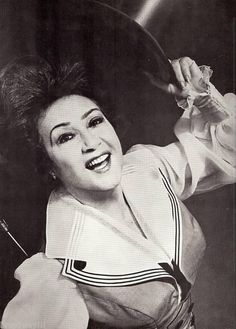 Ethel Merman in Hello, Dolly! Hollywood Stars, Classic Hollywood, Old Hollywood, Shirley Booth, Ethel Merman, Carol Channing, Old Movie Stars, The Great White, Iconic Women