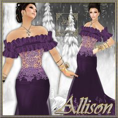 fb74033304 wowowww Purple Dress  2dayslook  PurpleDress  kelly751  sunayildirim   anoukblokker www.2dayslook.com