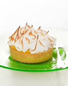 Lemon-Meringue Tartlets Recipe