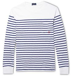 #Stripes Polo Ralph Lauren Striped Cotton-Jersey T-Shirt | MR PORTER