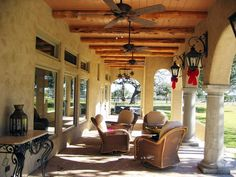 tuscan rustic homes | Rear porch of Tuscan home in the country. | Yelp