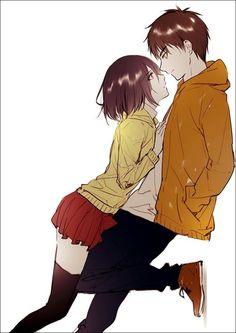 Shingeki no Kyojin - Eren x Mikasa