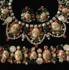 D Easter Egg Parure Bib Necklace by Elsewind on Etsy, $875.00
