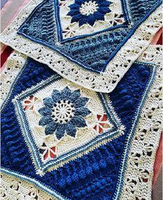 Crochet blanket stuff in love Madly crochet – Pattern Free