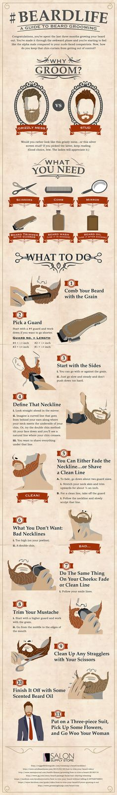 #Beardlife - A Guide To Beard Grooming
