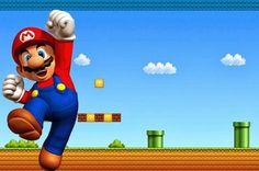 Super Mario Bros Free Party Printables and Invitations. - Oh My Fiesta! Super Mario Bros, Super Mario Party, Super Mario Birthday, Mario Birthday Party, Super Mario Brothers, 5th Birthday, Happy Birthday, Mario Kart, Mario Y Luigi