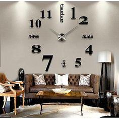 Moderne/Contemporain Autres Horloge murale,Rond Autres 41*13*10cm(16.1*5.1*3.9inch) Intérieur Horloge - CAD $ 27.79