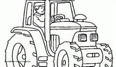 19 Best Ausmalbilder Traktor Images In 2016 Coloring Pages