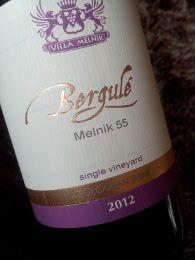 Bergulé 2012, Melnik 55, Single Vineyard, Bulgarije www.bulvino.nl